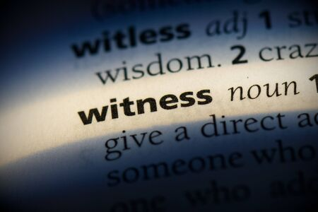 witness word in a dictionary. witness concept, definition.