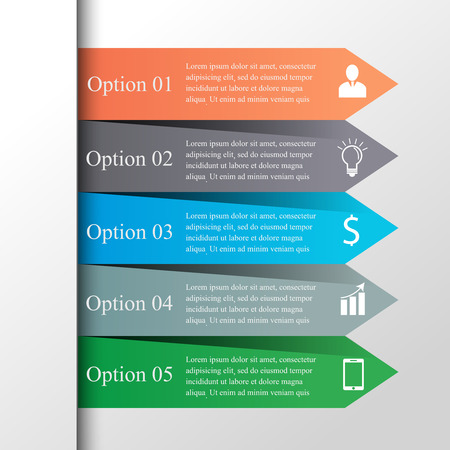 step up: Arrows infographic template. Can be used for workflow layout, diagram, number and step up options, web design. Infographics background.