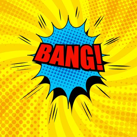 Comic Bang wording template