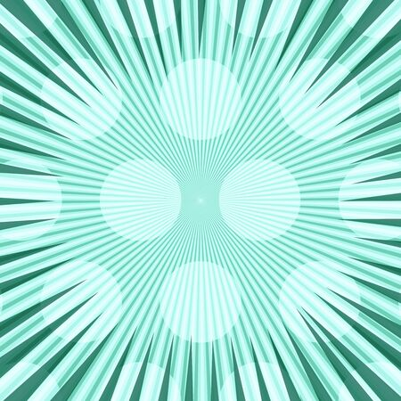 Comic abstract turquoise light background Illustration