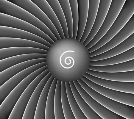 Fond de turbine de moteur d'avion