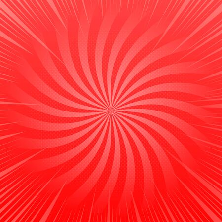 Abstract red shiny template