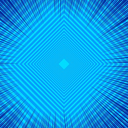 Abstract comic blue background