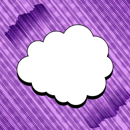 Abstract dynamic purple comic concept Ilustrace