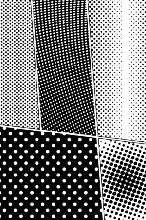 Abstract monochrome composition