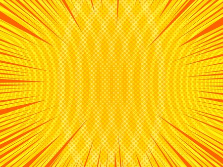 Abstract bright comic background