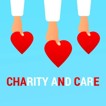 Charity and Care flat concept