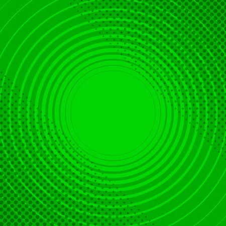 Abstract green funny background