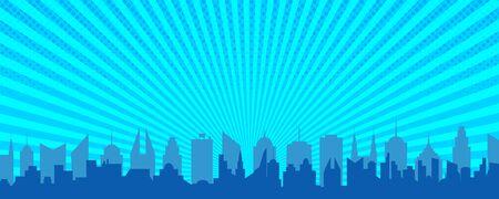 City silhouette concept