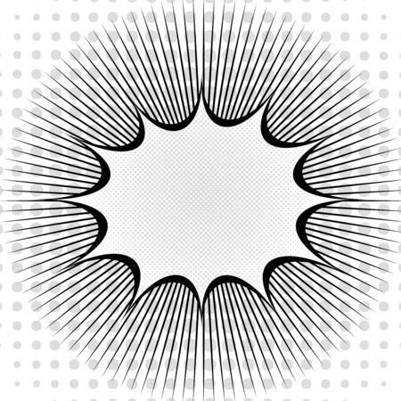 Monochrome explosive template