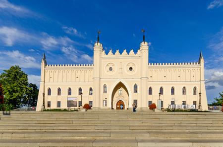 Lublin, Lublin province, Poland - July 8, 2017. Royal castle, 12th - 19th century.