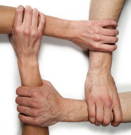 phalanx: group hands