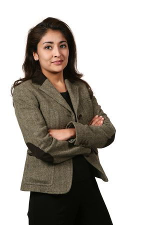portrait of a woman in career Stock Photo - 3101587