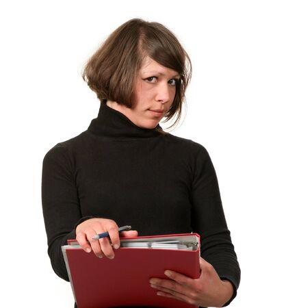 classifier: portrait of girl in the office