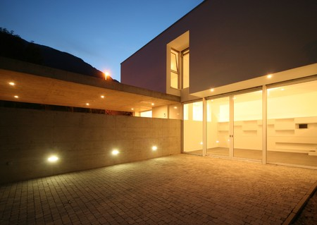 corner house: house