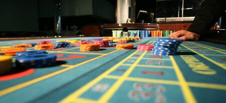roulette player: casino