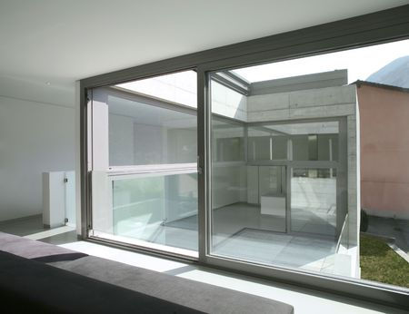 modern house Stock Photo