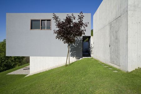 exterior, modern house photo