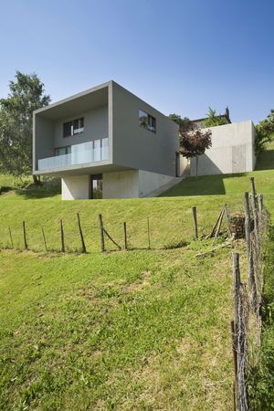 exterior, modern house Stock Photo - 11448160