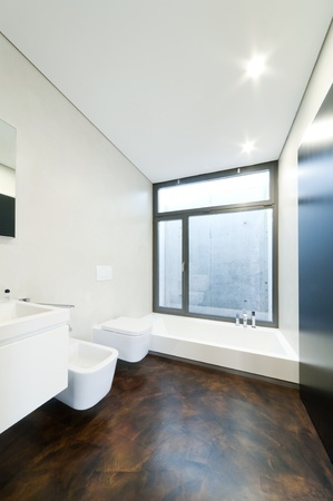 modern bathroom Stock Photo - 13484095