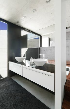 modern bathroom Stock Photo - 13624116