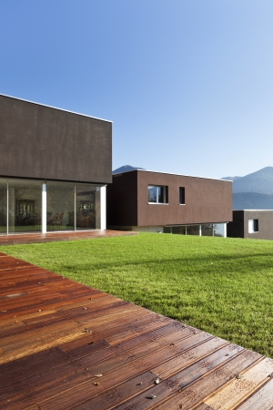 meadowland: view of the beautiful modern houses,  outdoor