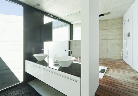 interior bathroom Stock Photo - 13889107