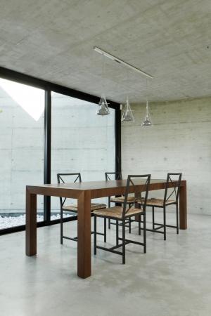 dining room, interior modern house Stock Photo - 13889113