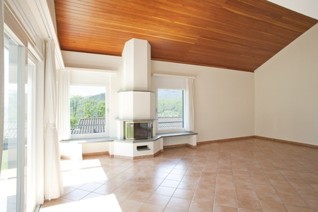 interior of modern house Stock Photo - 17035675