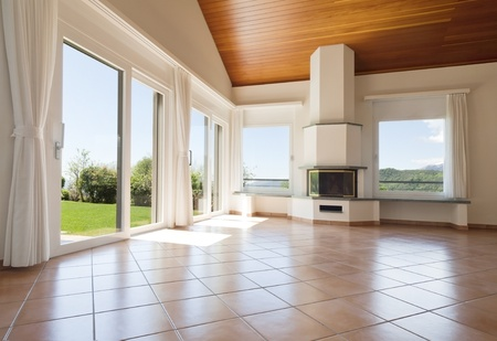 interior of modern house Stock Photo - 17035671