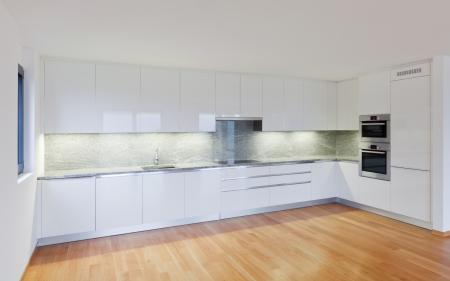 interior modern empty flat, apartment nobody inside Stock Photo - 19144920