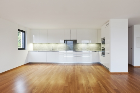 interior modern empty flat, apartment nobody inside Stock Photo - 19144981