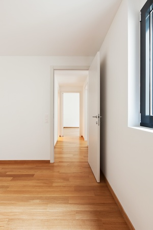 interior modern empty flat, apartment nobody inside Stock Photo - 19144977