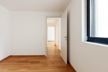 interior modern empty flat, apartment nobody inside Stock Photo - 19384638