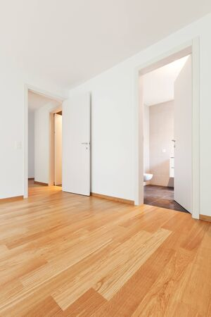 empty apartment inside. interior modern empty flat  apartment nobody inside photo Interior Modern Empty Flat Apartment Nobody Inside Stock Photo