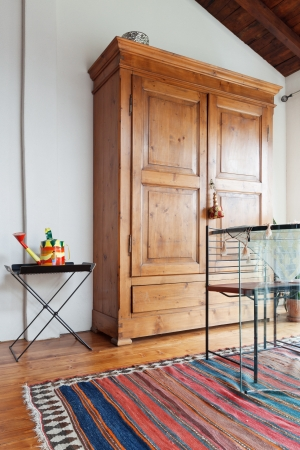 forniture: interior of beauty house,