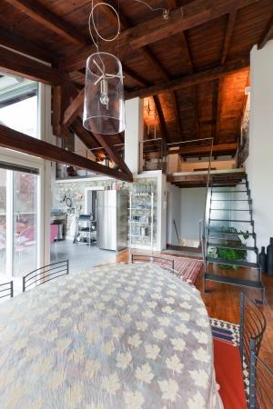 interior of beauty house; dinning room Stock Photo - 20177305