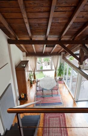 architectonics: interior of beauty house; dinning room Stock Photo