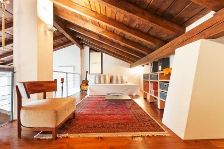 intérieur de la maison de beauté, salle de lit
