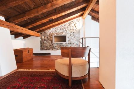 architectonics: beauty house, interior Stock Photo