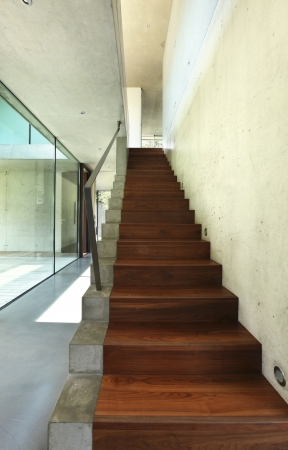 Beauty staircase in a modern house  Stock Photo - 21012836