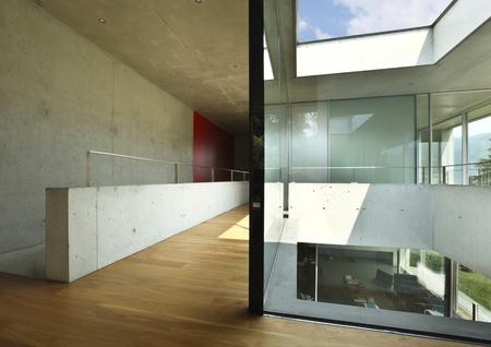 duplex: interio fo a modern house, design  Stock Photo
