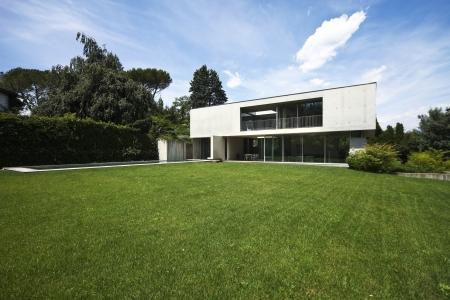 Modernes Haus und Garten Schönheit Standard-Bild - 21018598
