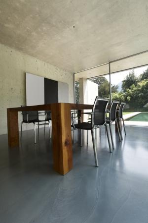 modern dining room, nobody inside Stock Photo - 21018679