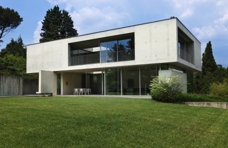 exterior, modern house Stock Photo - 21133998
