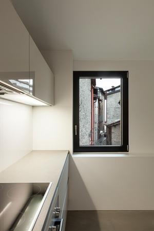 Inter of stylish modern house, kitchen Stock Photo - 22805866