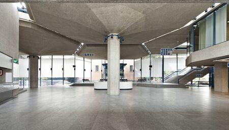Interior of a Congress Palace, hall  photo