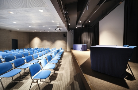 Endroit à l'intérieur de la conférence d'affaires Banque d'images - 23995589