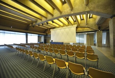 Interno di una sala conferenze Archivio Fotografico - 23995547
