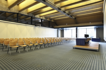 interior of a conference hall Imagens